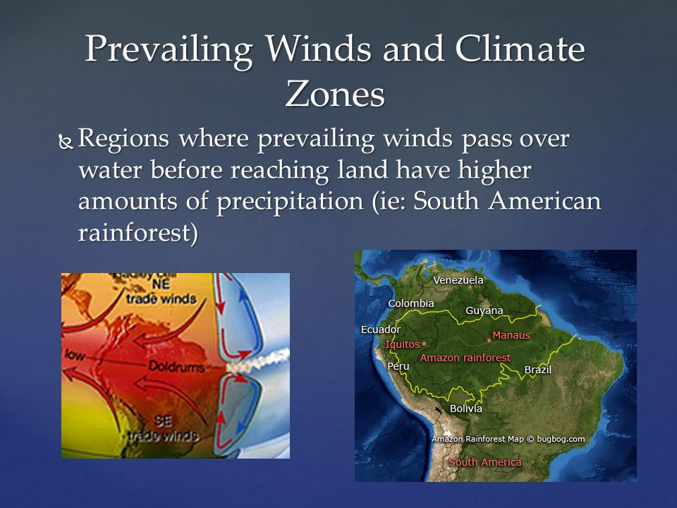 Prevailing Winds and Climate Zones