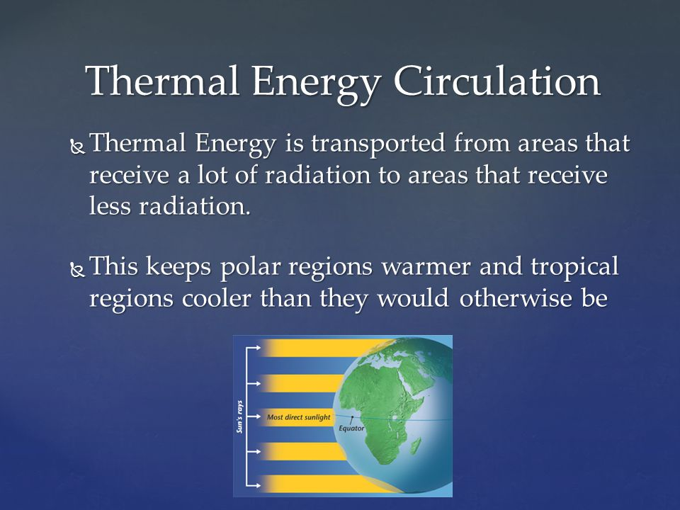Thermal Energy Circulation