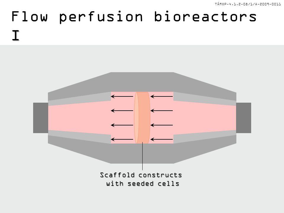 Flow perfusion bioreactors I