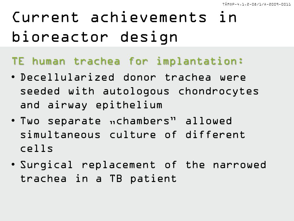 Current achievements in bioreactor design