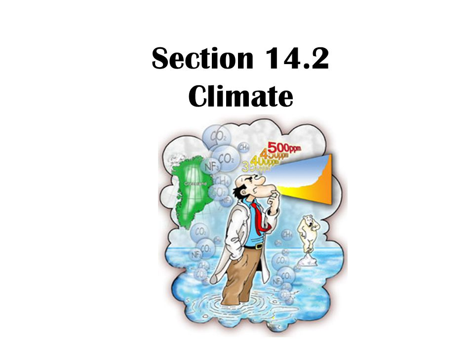 Section 14.2 Climate