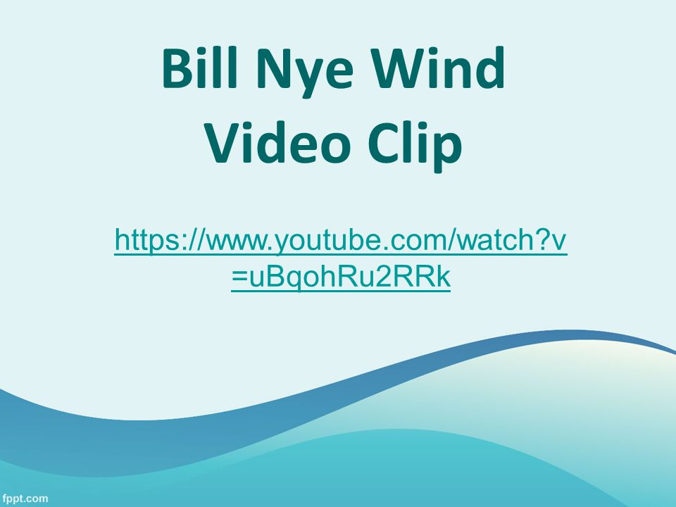 Bill Nye Wind Video Clip