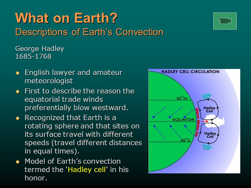 What on Earth Descriptions of Earth's Convection