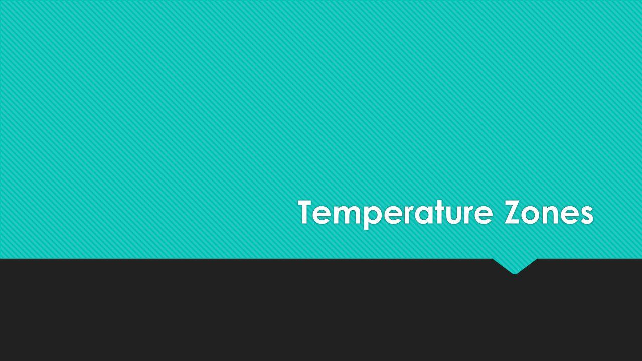 Temperature Zones