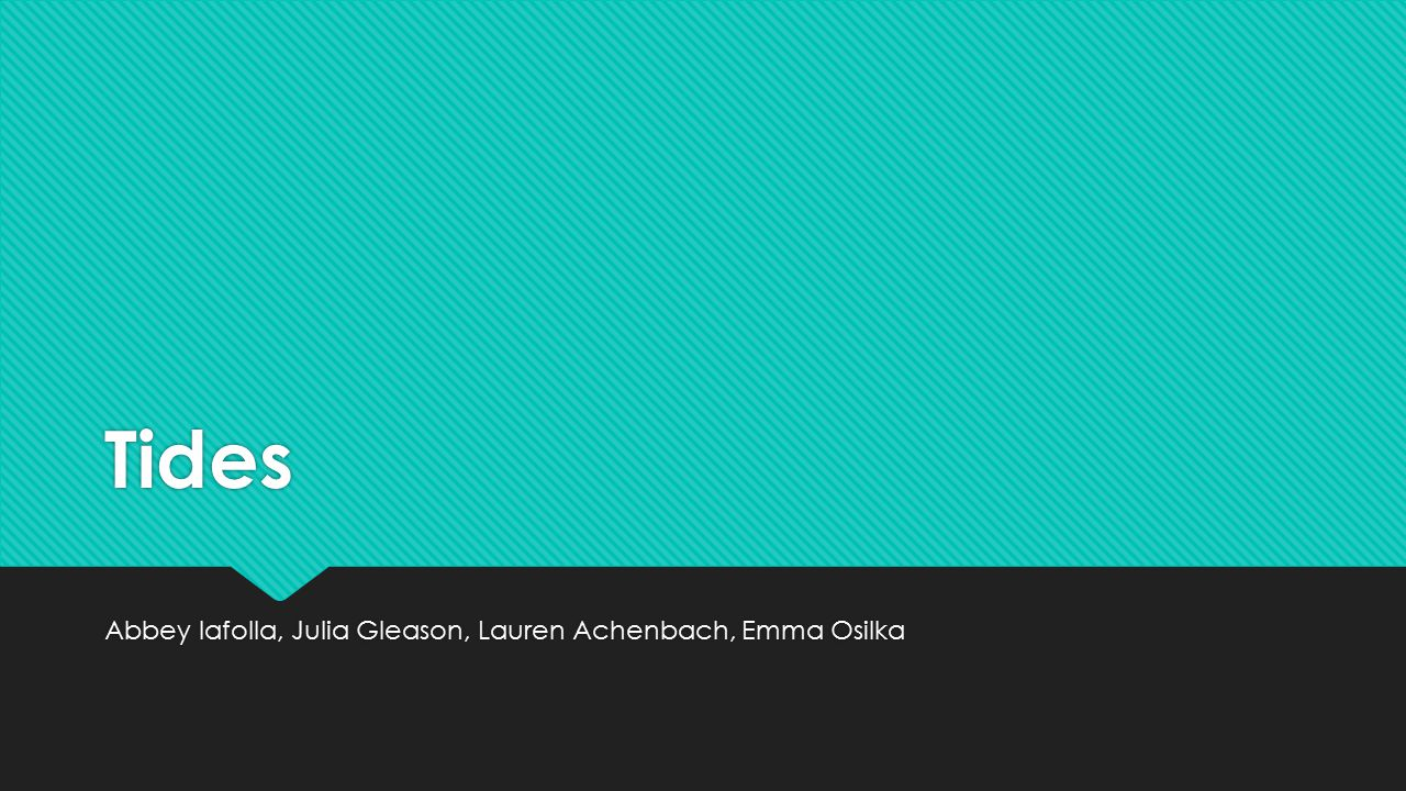 Abbey Iafolla, Julia Gleason, Lauren Achenbach, Emma Osilka