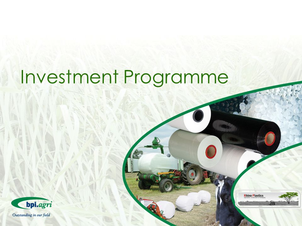 Investment Programme
