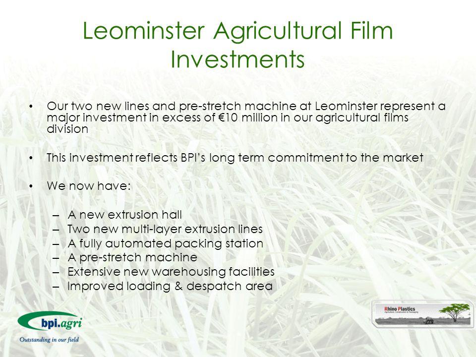 Leominster Agricultural Film Investments