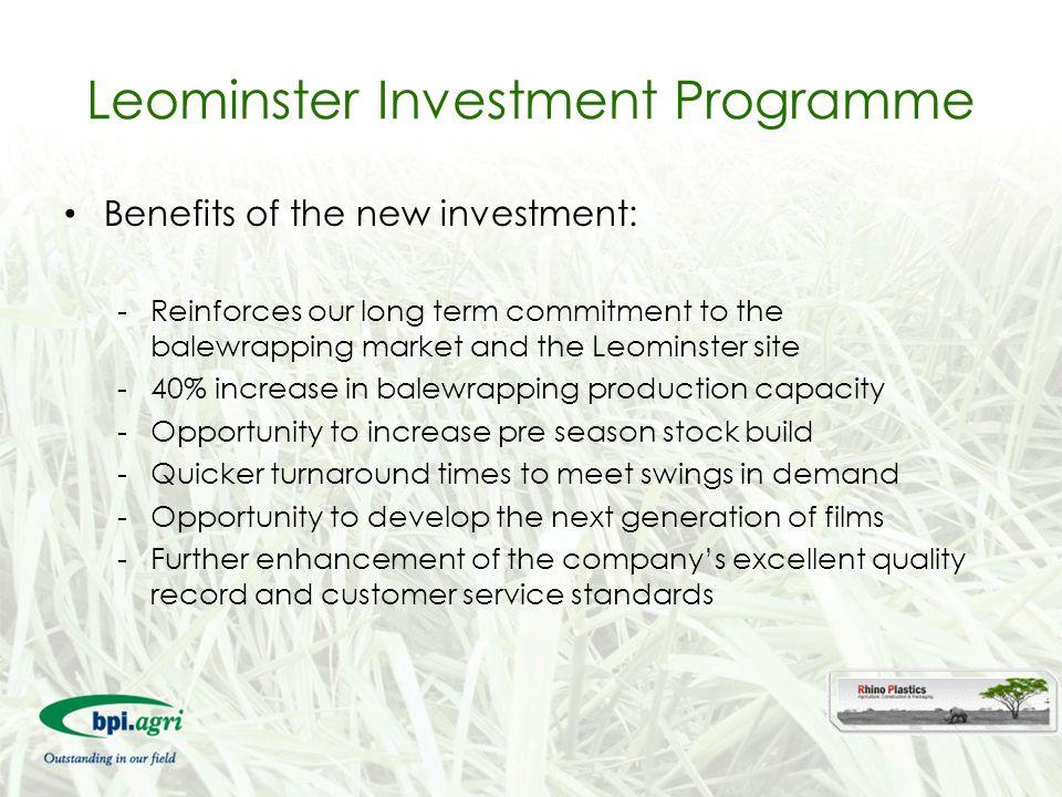 Leominster Investment Programme