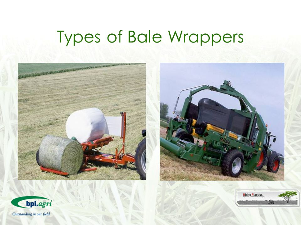 Types of Bale Wrappers 26