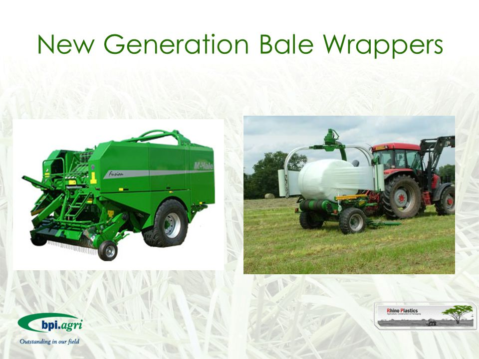 New Generation Bale Wrappers