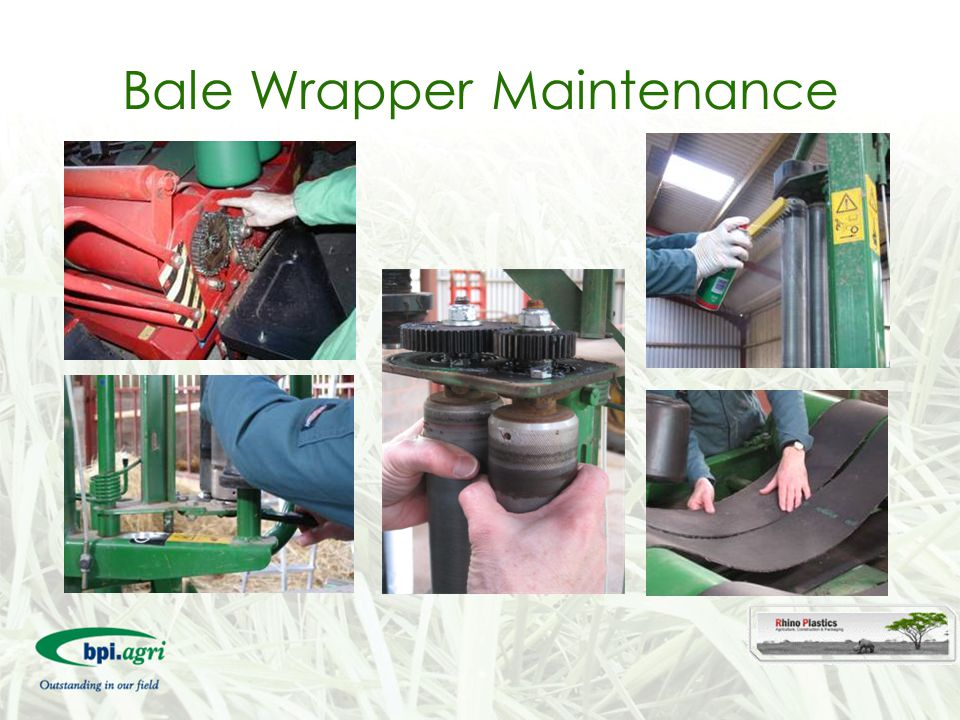Bale Wrapper Maintenance