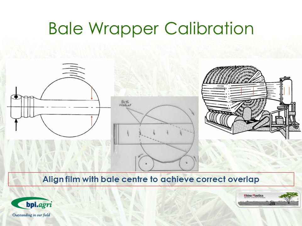 Bale Wrapper Calibration