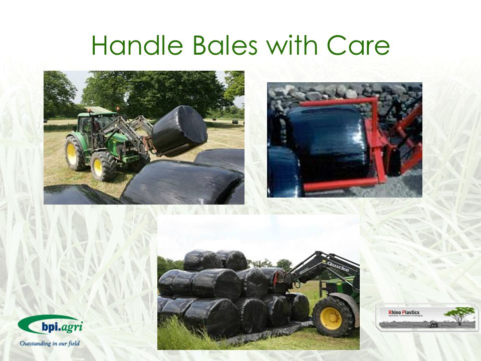 Handle Bales with Care