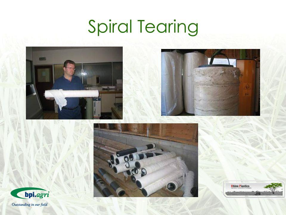 Spiral Tearing
