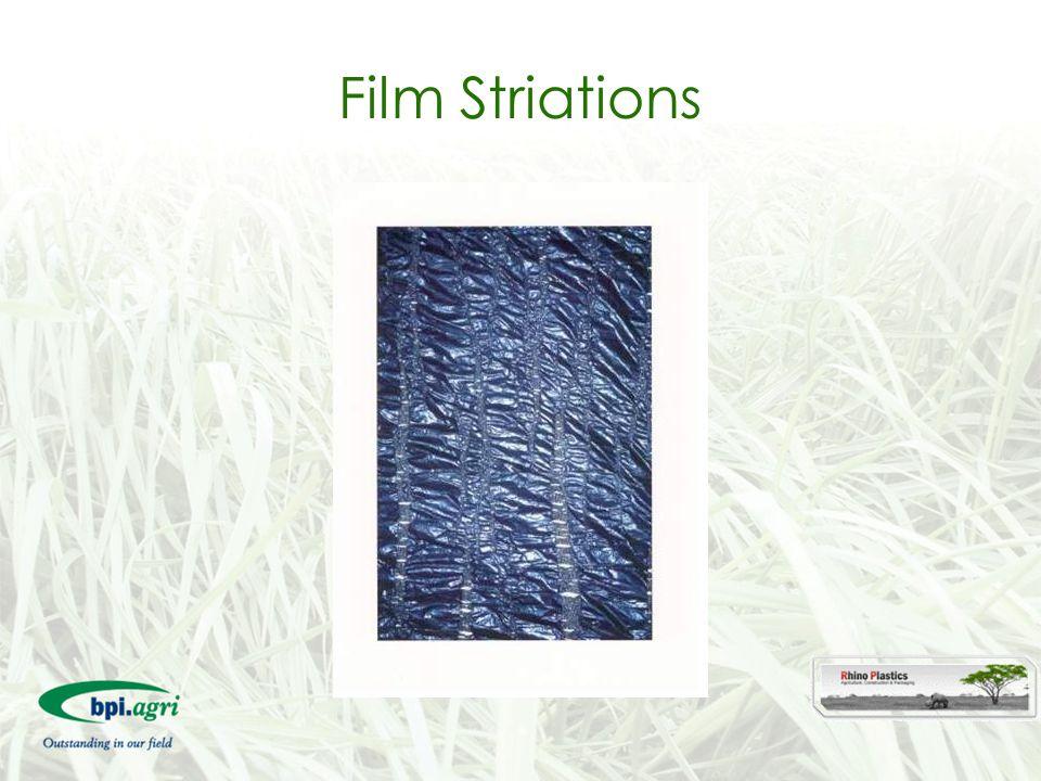 Film Striations