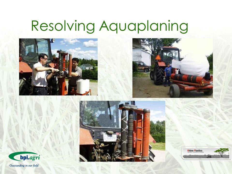 Resolving Aquaplaning