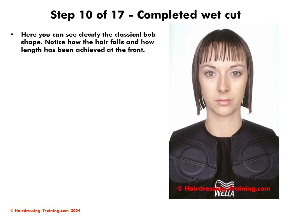 Step 10 of 17 - Completed wet cut