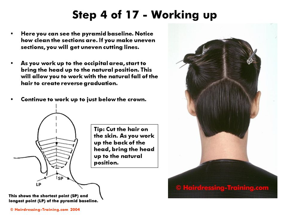 Step 4 of 17 - Working up