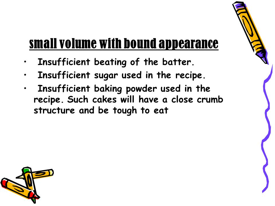 small volume with bound appearance