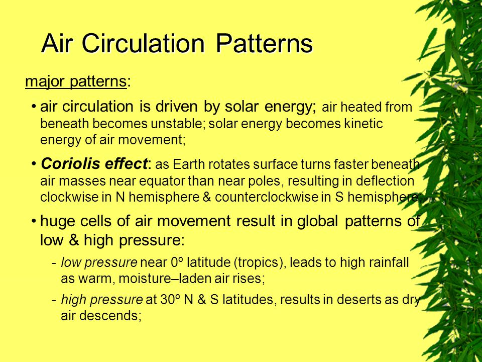 Air Circulation Patterns