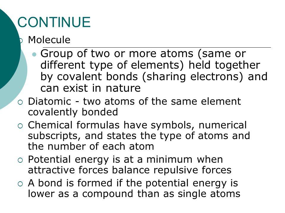 CONTINUE Molecule.