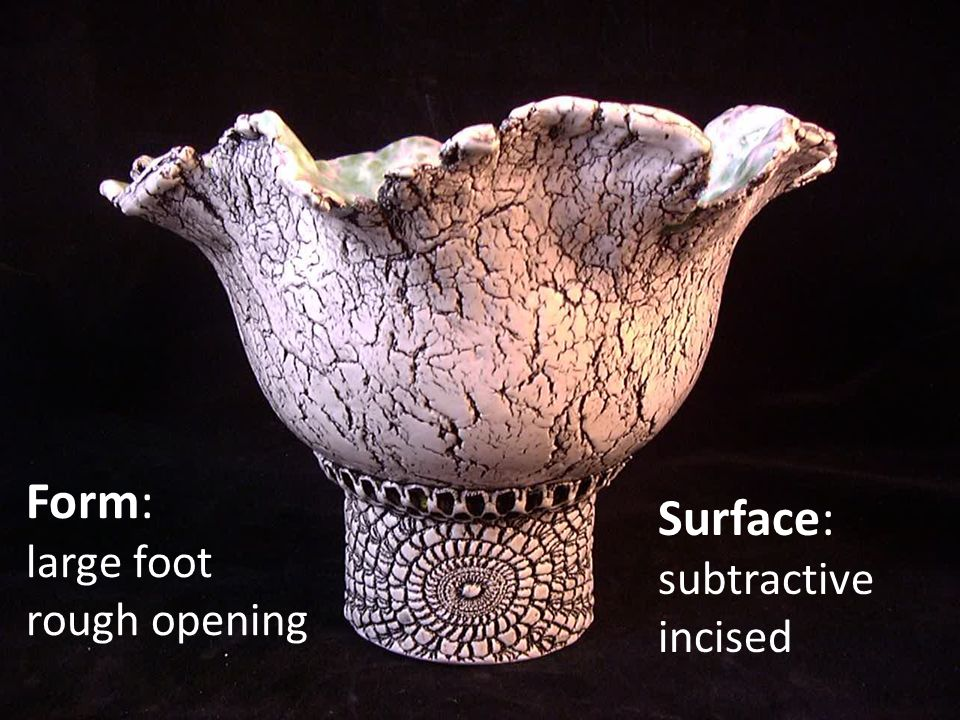 Surface: subtractive incised