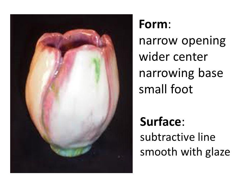 Surface: subtractive line