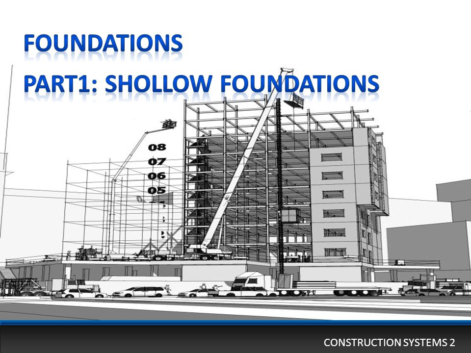 Part1: Shollow foundations