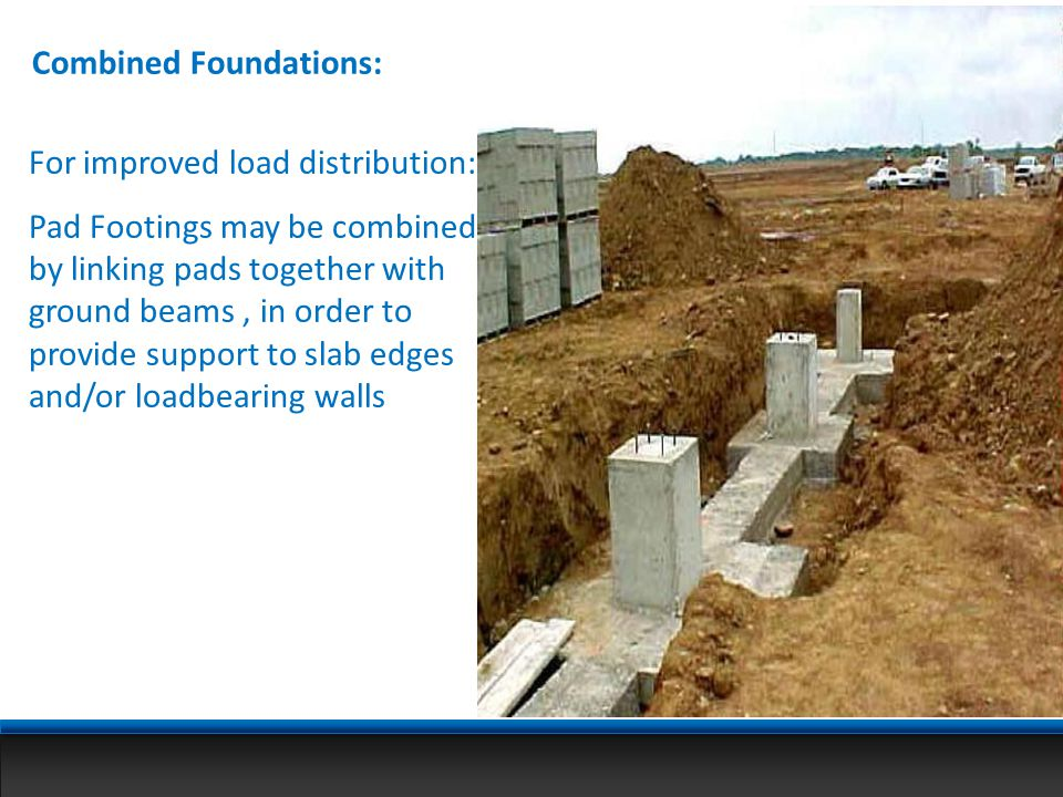 Combined Foundations: