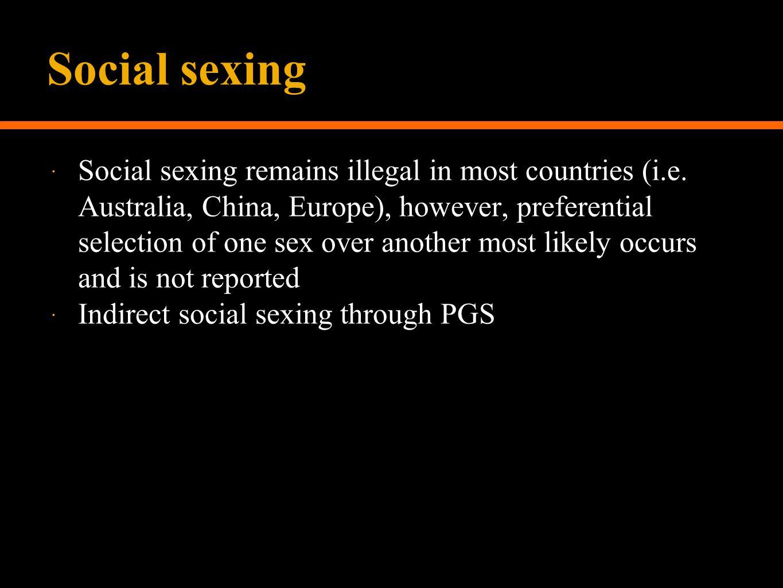 Social sexing