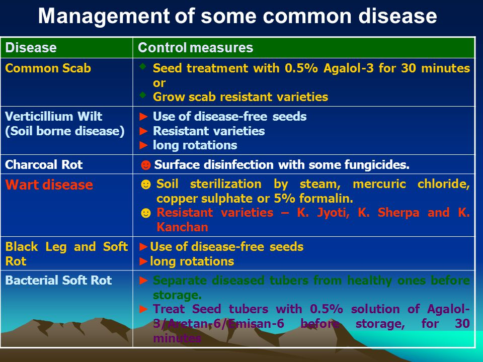 Management of some common disease