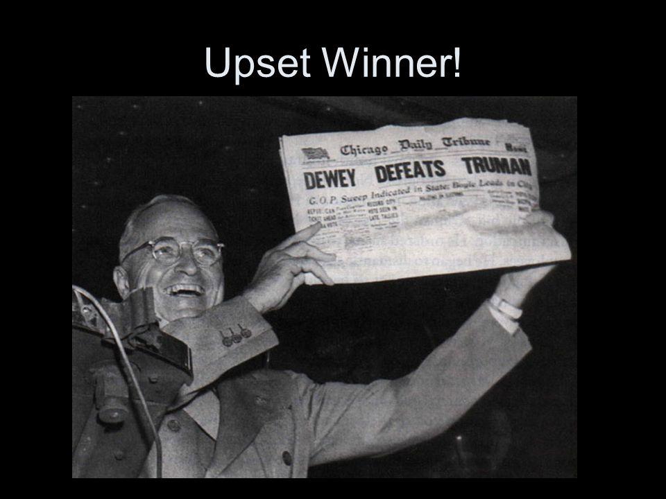 Upset Winner!