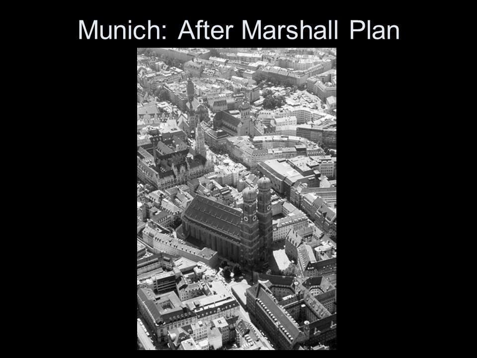 Munich: After Marshall Plan