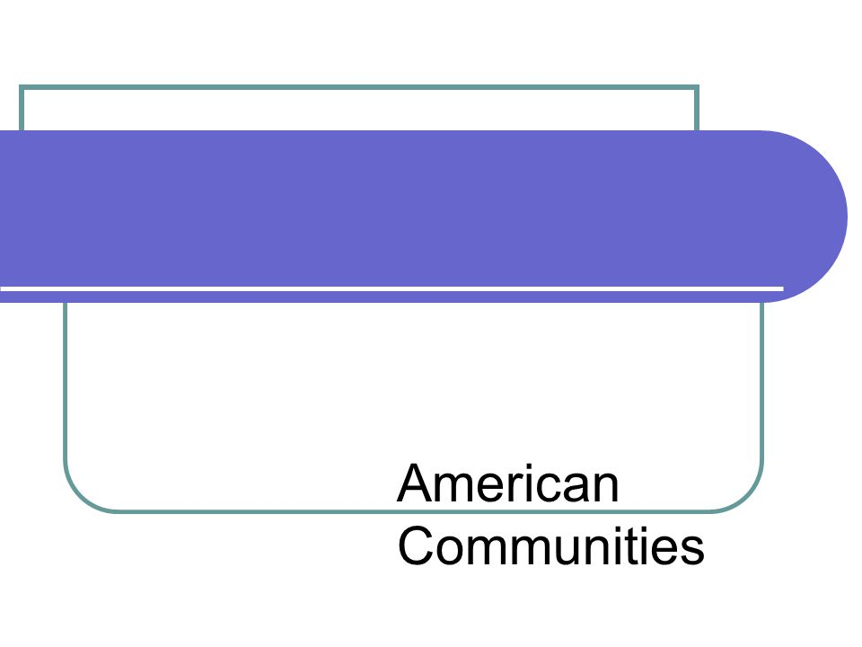 American Communities