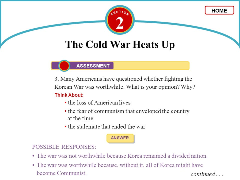 Stalemate Definition Cold War
