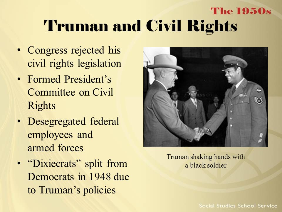Truman and Civil Rights