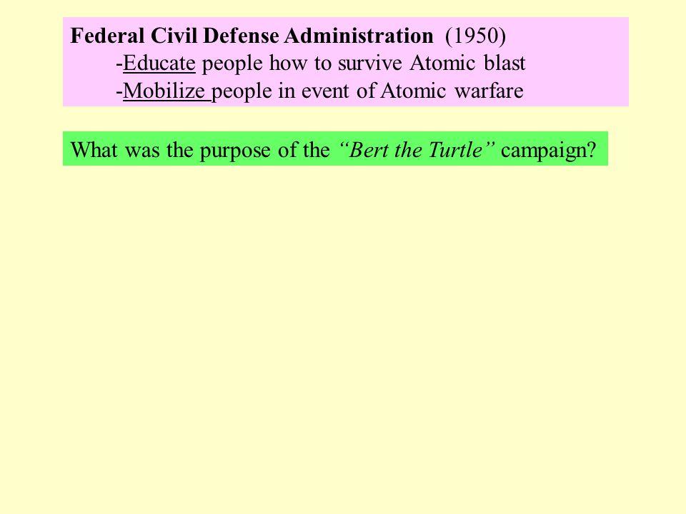 Federal Civil Defense Administration (1950)