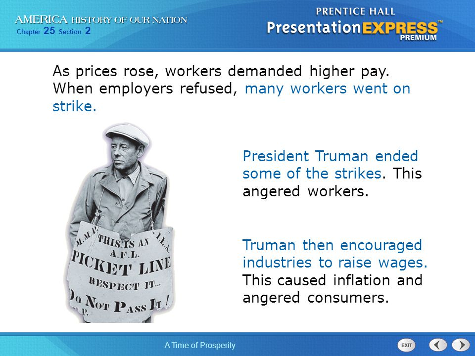As prices rose, workers demanded higher pay
