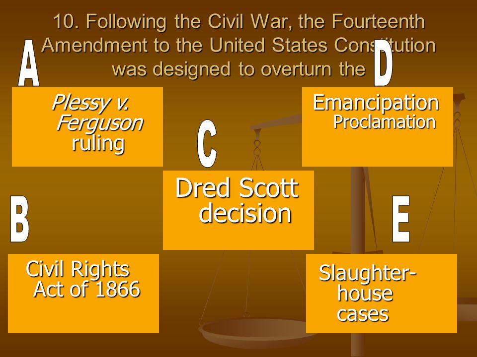 Dred Scott decision Plessy v. Ferguson ruling