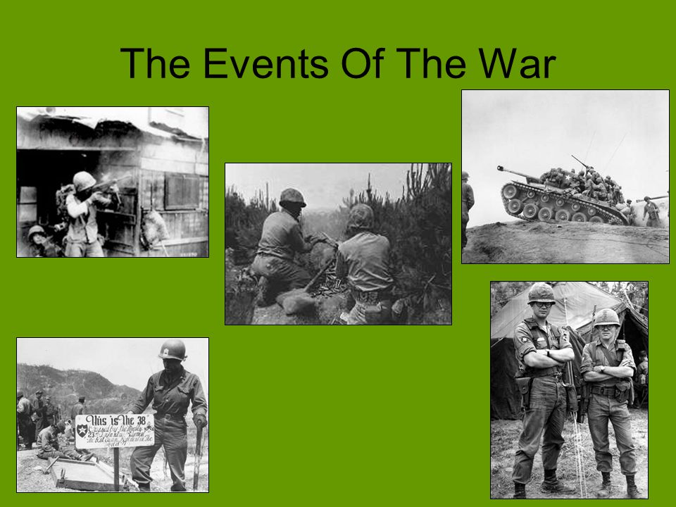 The Events Of The War