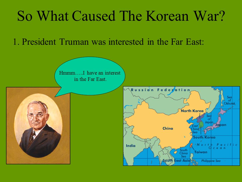 So What Caused The Korean War