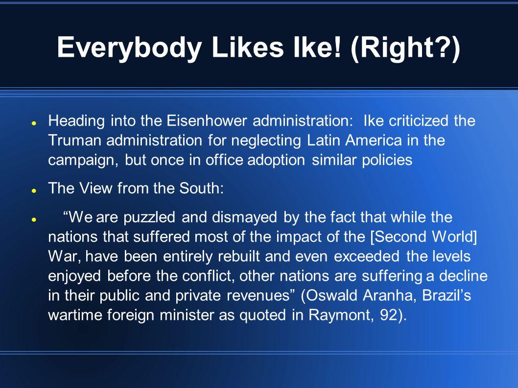 Everybody Likes Ike! (Right )
