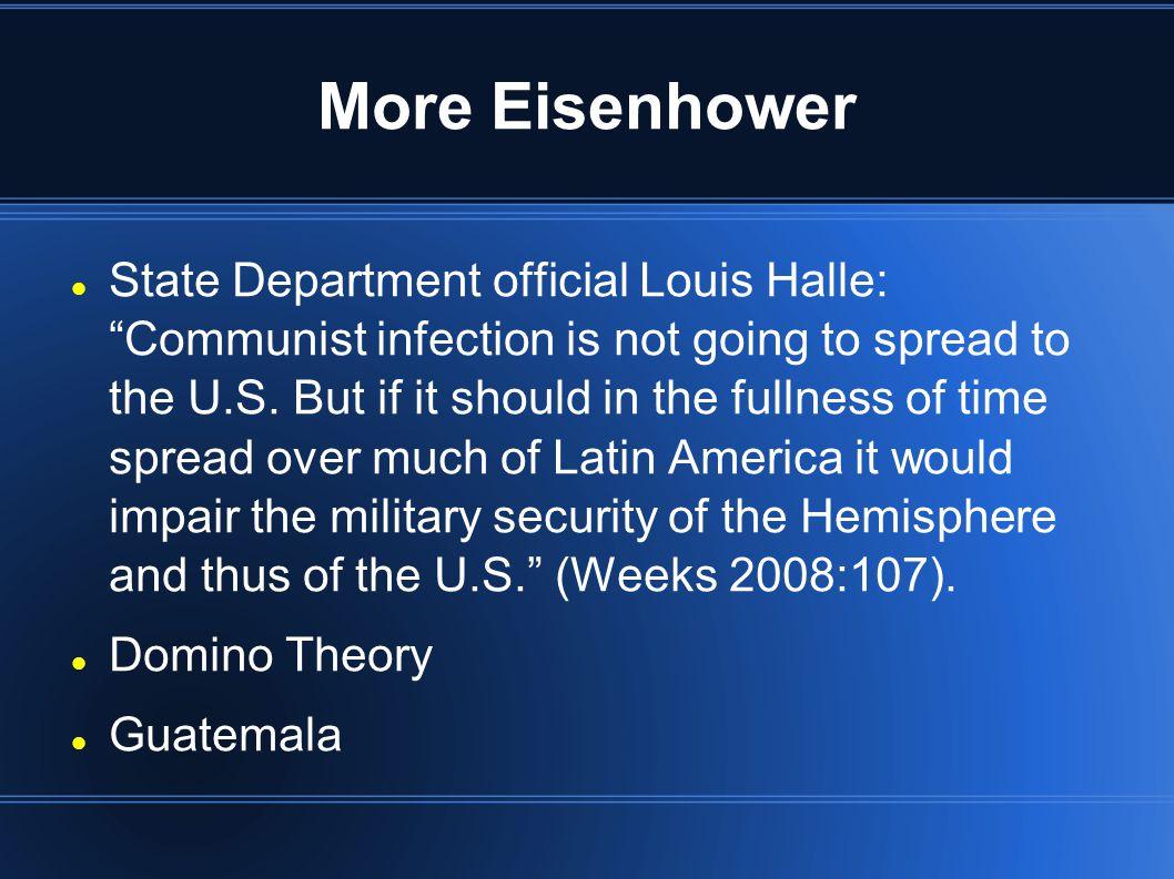 More Eisenhower