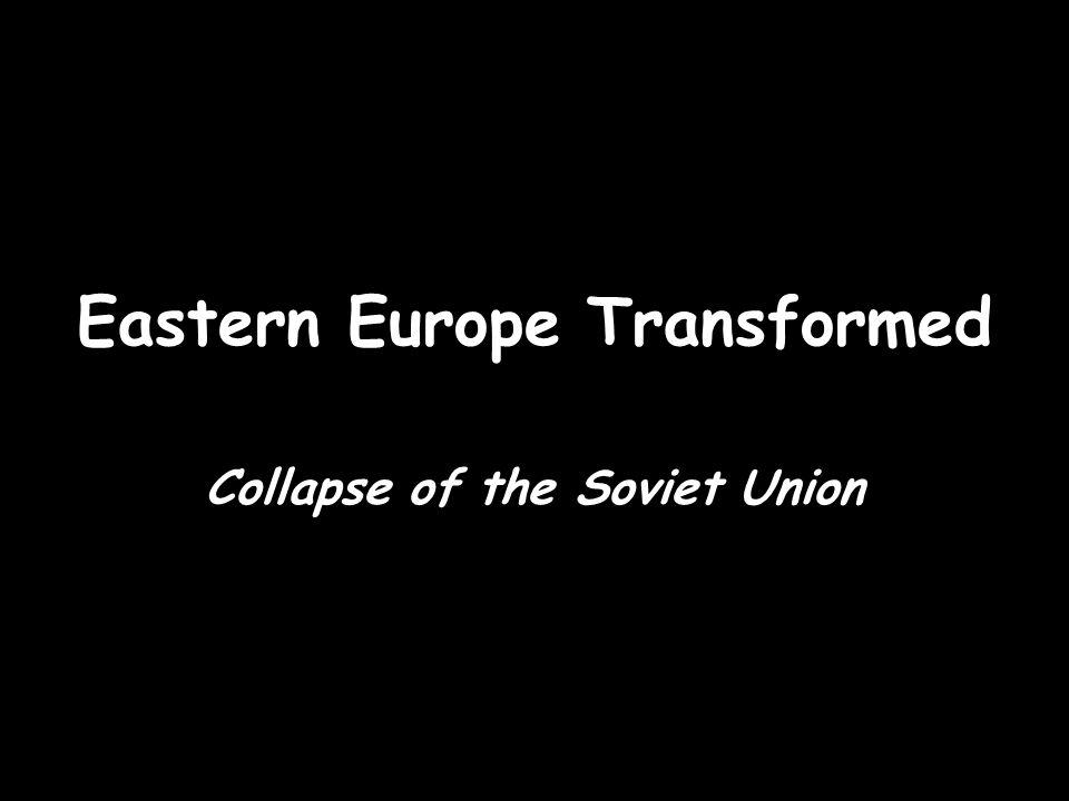 Eastern Europe Transformed