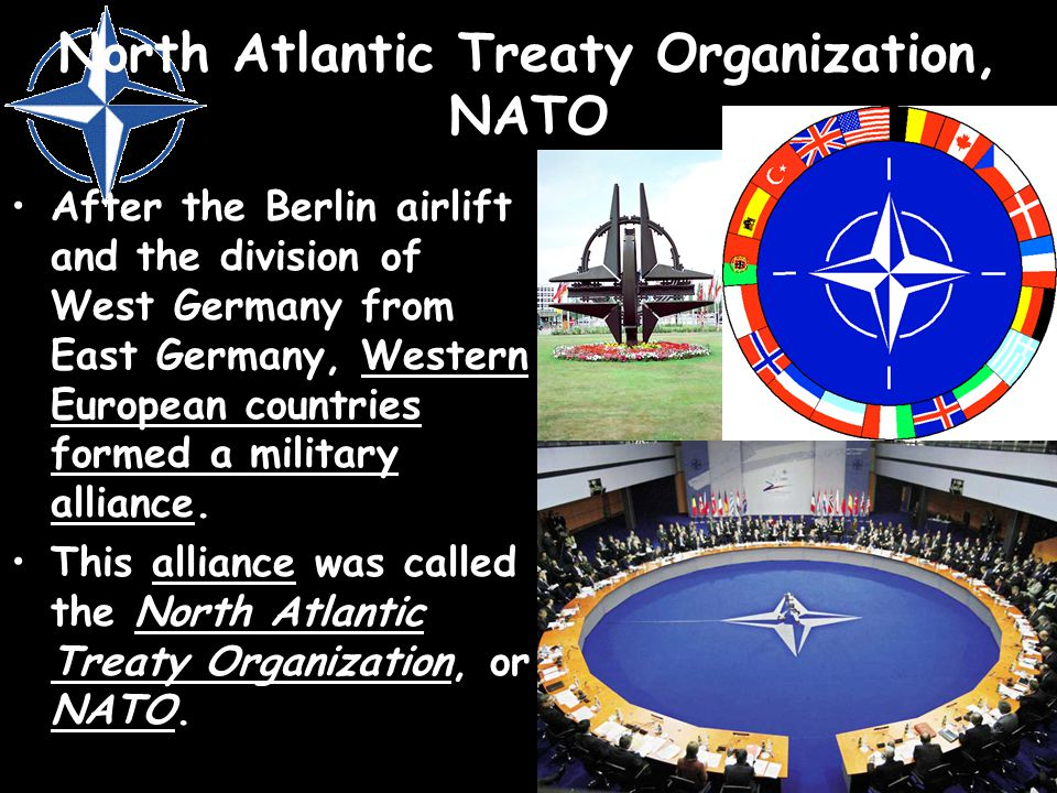 North Atlantic Treaty Organization, NATO
