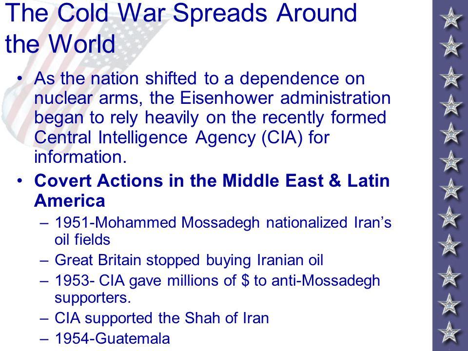 The Cold War Spreads Around the World