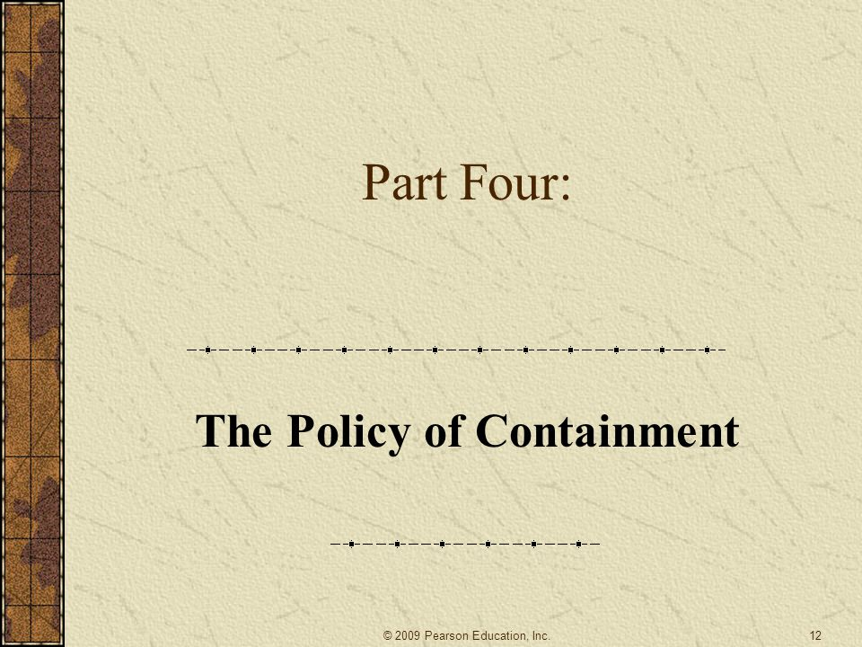 a overview of the containment policy adopted by president harry truman in united states A us foreign policy adopted by president harry truman in the late 1940s, in  which the united states tried to stop the spread of communism by creating.