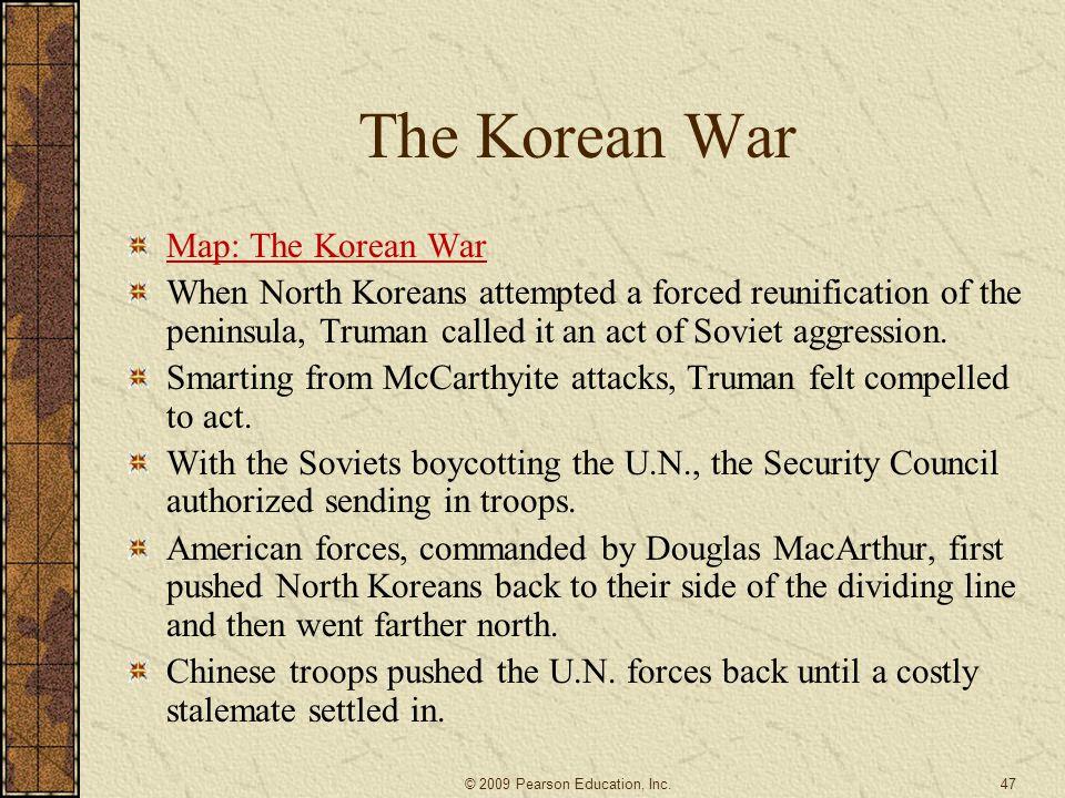 The Korean War Map: The Korean War