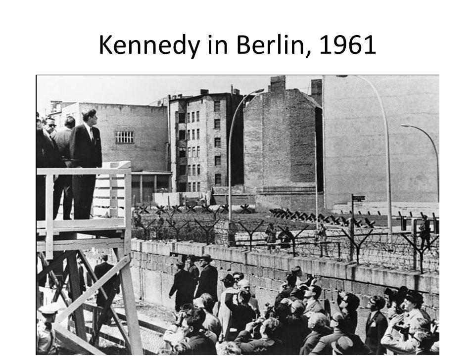 Kennedy in Berlin, 1961