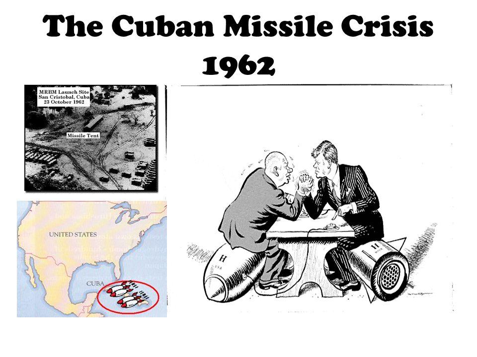 The Cuban Missile Crisis 1962
